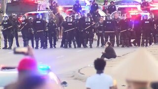Omaha protests death of George Floyd at 72nd and Dodge St