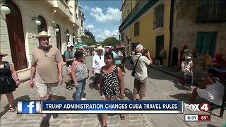 U.S. imposes new Cuba travel restrictions