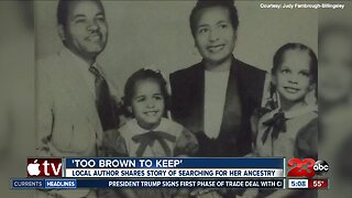 Too Brown to Keep: Local author shares story of searching for her ancestry