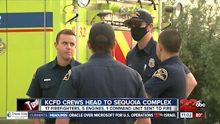KCFD crews head to Sequoia Complex Fire