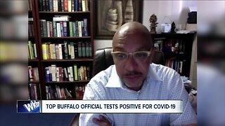 Pridgen discusses COVID-19 diagnosis
