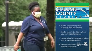 Face mask mandate now in effect for St. Lucie County