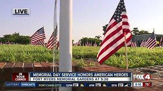 Memorial Day service honors American Heroes