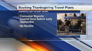 Booking Thanksgiving travel plans