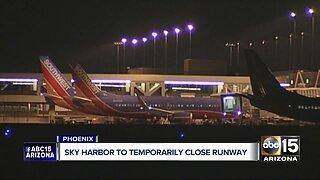 Sky Harbor to temporarily close runway