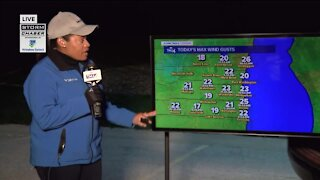 Overnight frost advisory Sunday before temperatures warm up on Monday
