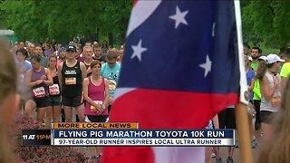 97-year-old Runner Inspires Local Ultra Runner