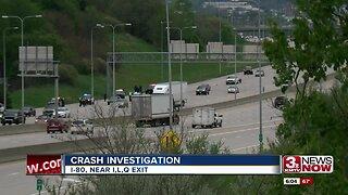 Police investigate interstate crash