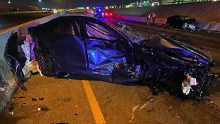 Andrew Bennett talks about wrong-way crash
