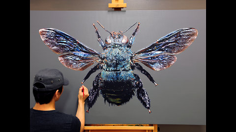 Mind-blowing compilation of hyperrealism artwork by Young-sung Kim