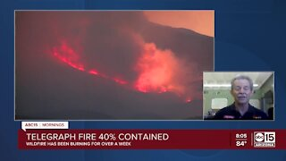 Officials provide latest update on Telegraph Fire