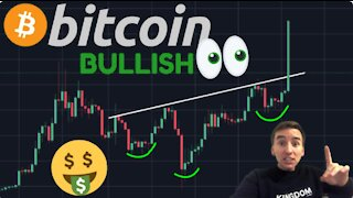 THIS IS THE MOST BULLISH BITCOIN PATTERN I'VE EVER SEEN!!!!!!!!!!.