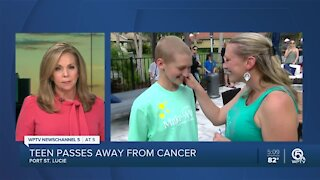 Port St. Lucie teen who had love for animals dies after battle with cancer