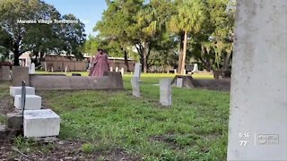 Spooky cemetery tour goes virtual