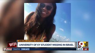 University of KY student missing in Israel