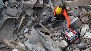 Rescue Teams Search For Possible Survivor In Beirut Blast