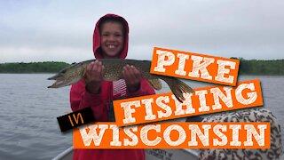 S1:E4 Pike Fishing in Wisconsin | Kids Outdoors
