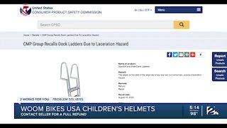 PS Recall Roundup: Woom Bikes USA children's helmets