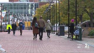Coronavirus spike as Maryland prepares for busy week