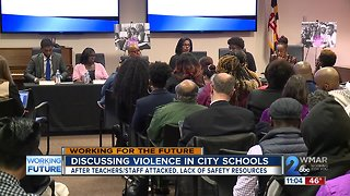 School officials discuss violence in city schools