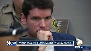 Women take the stand against accused rapist