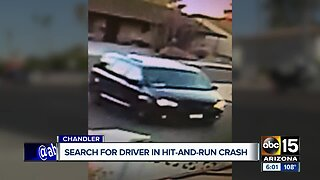 Search on for driver in hit-and-run crash in Chandler