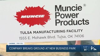 Company breaks ground at new business park