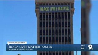 Tucson mayor unveils 'Black Lives Matter' banner at City Hall