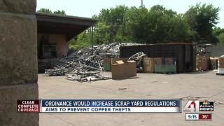 Scrap yards in Kansas City could face more regulations