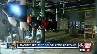 Teachers head back to Hillsborough County schools with new air conditioning