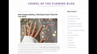 Win a wedding in Las Vegas
