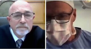 WOW! Doctor appears in virtual traffic court while performing surgery