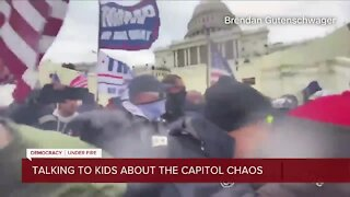 Talking to kids about the Capitol chaos
