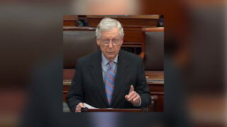 Mitch McConnell speaks out against the infrastructure bill