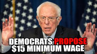 Democrats Propose $15 Minimum Wage
