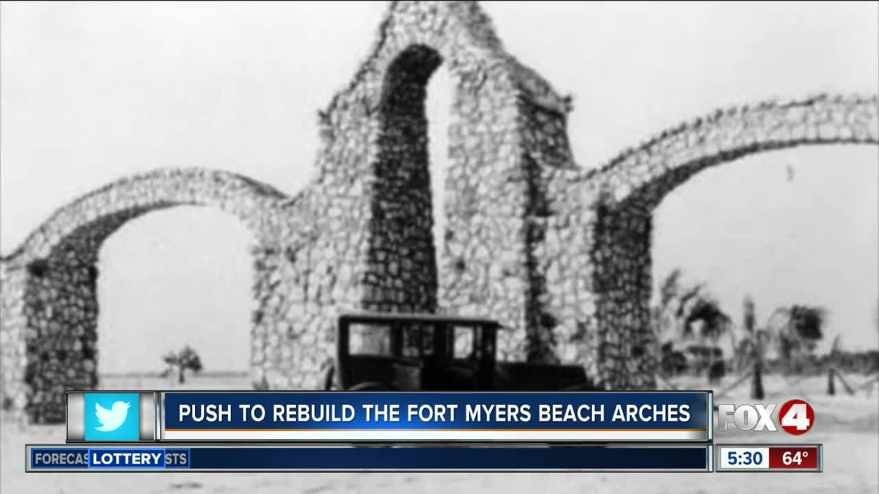 County set to discuss rebuilding Fort Myers Beach arches