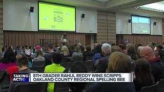 Eighth grade student wins Oakland Schools Scripps Regional Spelling Bee