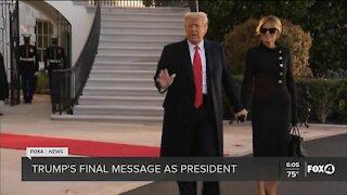 Trump leaves for Florida ahead of Biden Inauguration