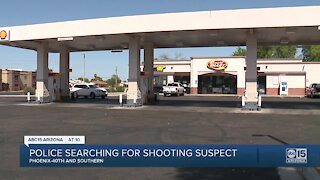 Phoenix police searching for shooting suspect