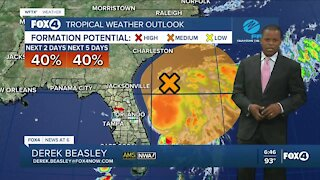 Monitoring possible tropical development off the Florida East Coast