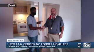 Valley veteran experiencing homelessness finds apartment