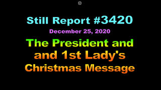 The President and First Lady's 2020 Christmas Message, 3420