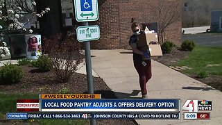 FosterAdopt Connect turns food pantry into delivery service