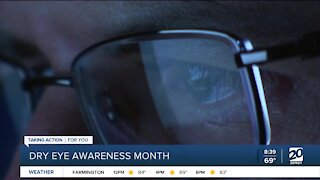 It's Dry Eye Awareness Month