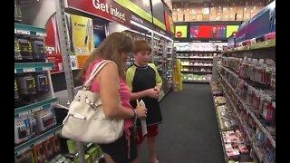 Saving money on back-to-school shopping