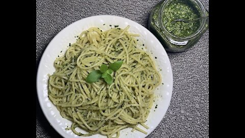 Frozen Nut-Free Basil Pesto whenever you want