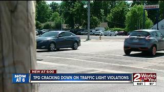 TPD cracking down on traffic light violations