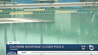 Chlorine shortage forces Coronado Aquatics Center to close