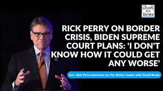 Rick Perry on border crisis, Biden Supreme Court plans: 'I don't know how it could get any worse'