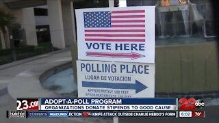 Adopt-A-Poll program